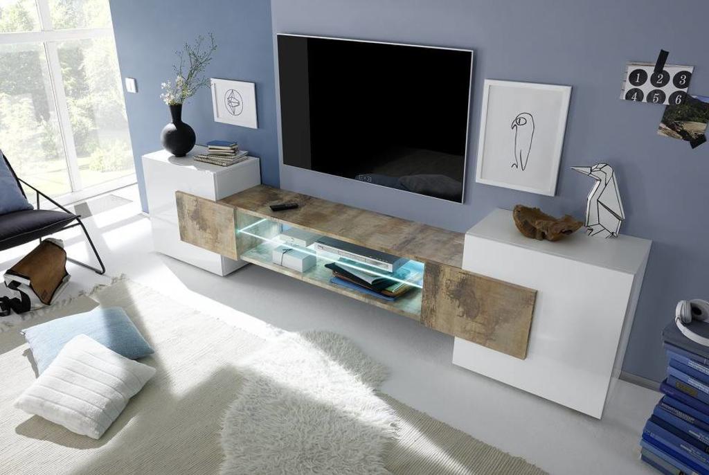 Tv Meubel Design Eiken.Benvenuto Design Sandrino Tv Meubel Eiken