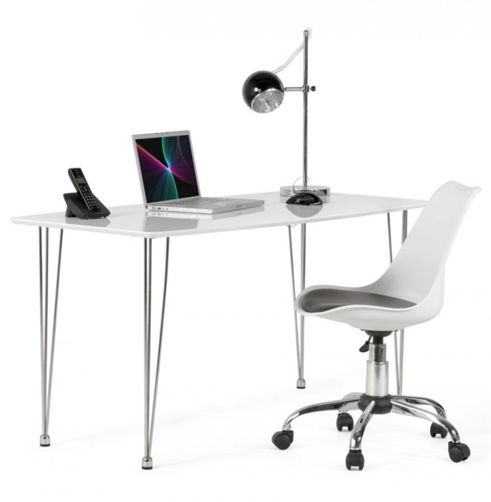 Davidi design bondy living lilo design stoel wit zwart for Design stoel wit