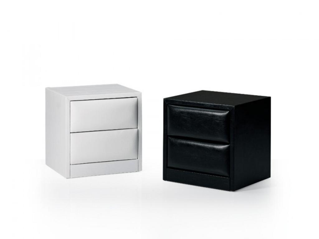 Davidi design davidi design briva nachtkastje zwart van davidi design slaapkamer - Meubilair storage zwart ...