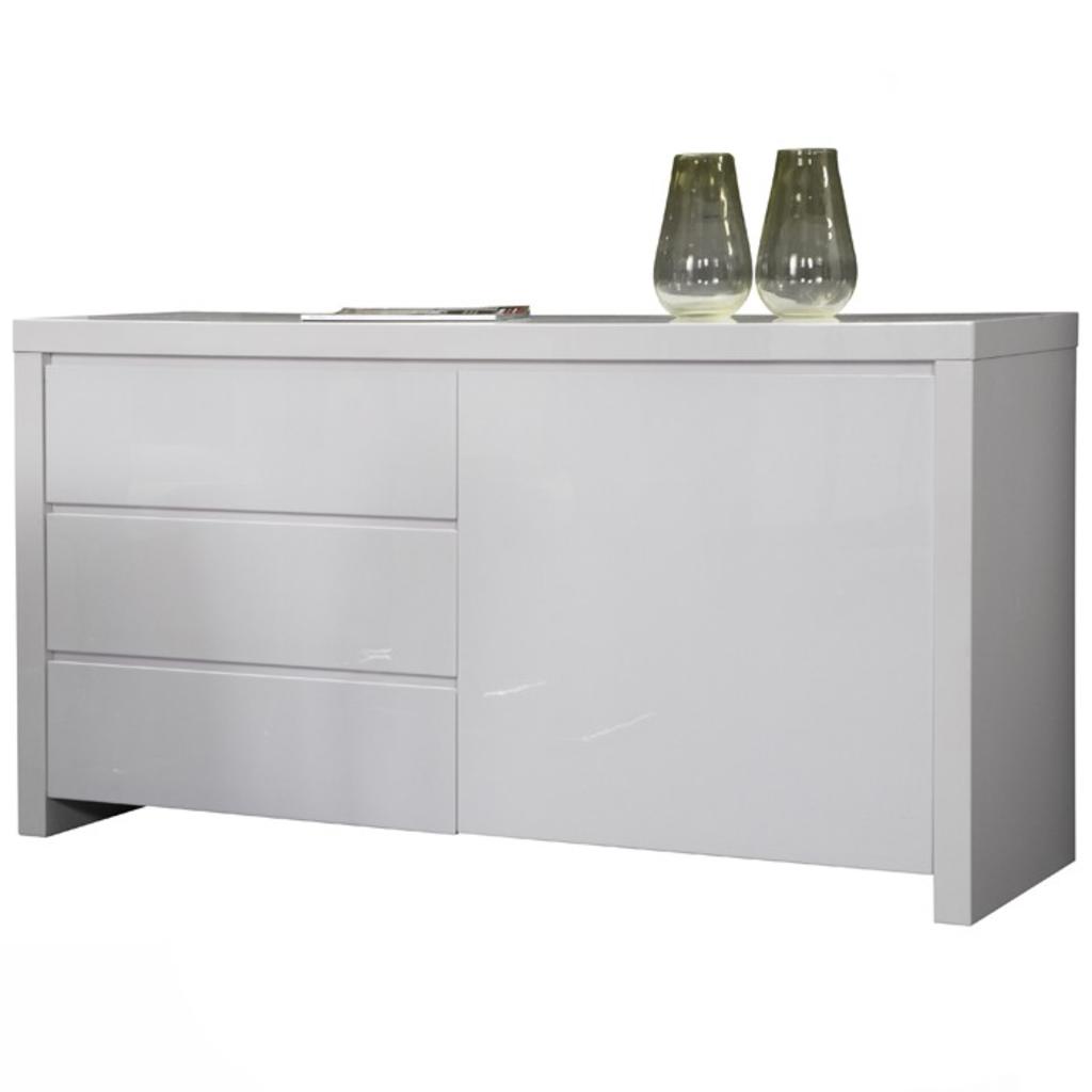 Davidi design davidi design dressoir hoogglans wit b for Dressoir design