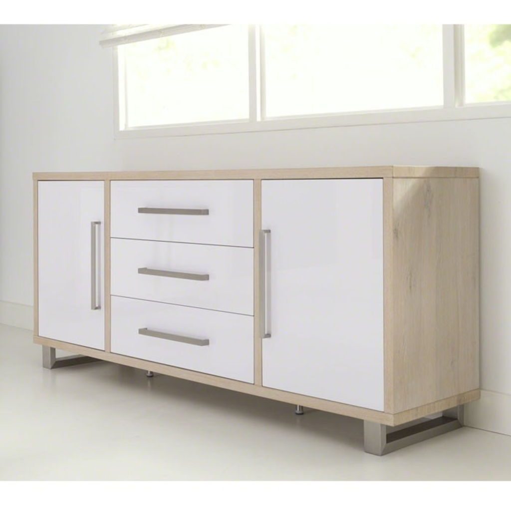 Davidi design davidi design dressoir wit bruin klassiek for Dressoir design
