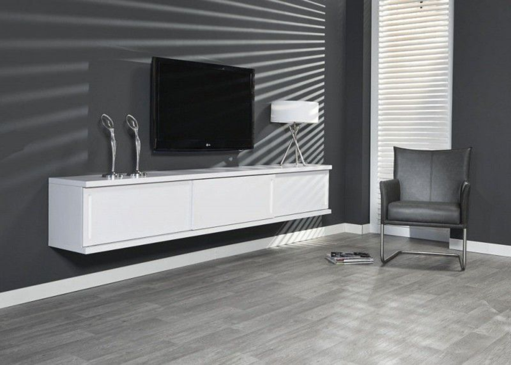 Tv Wandmeubel Wit.Davidi Design Ebba Tv Wandmeubel Wit