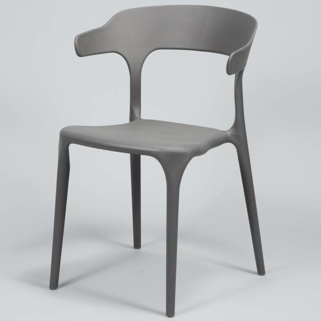 Davidi design davidi design hopper stoel 4 stuks grijs van davidi design eetkamer meubels - Meubilair van binnenkomst grijs ...