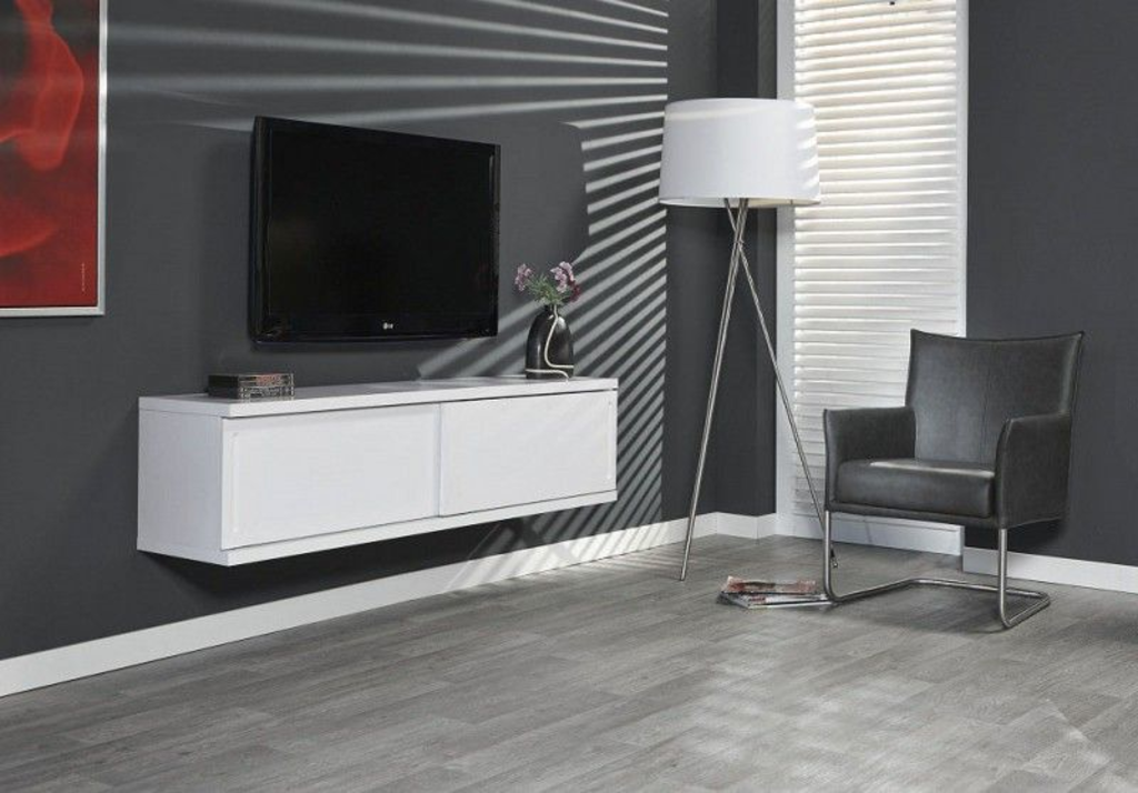 Tv Wandmeubel Wit.Davidi Design Justus Tv Wandmeubel Wit