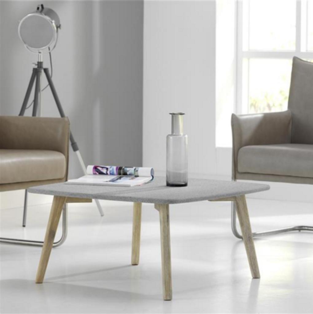 Davidi design davidi design salma salontafel grijs graniet van davidi design woonkamer meubilair - Meubilair van binnenkomst grijs ...