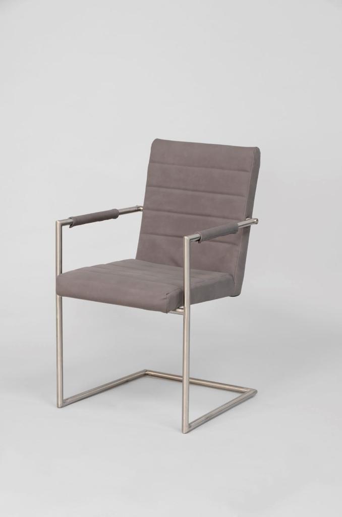 Davidi design eetkamerstoel calero grijs van davidi design eetkamer meubilair - Meubilair van binnenkomst grijs ...