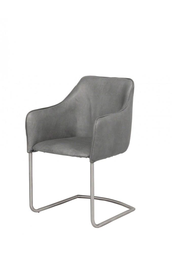 Davidi design eetkamerstoel clubchair grijs van davidi design eetkamer meubilair - Meubilair van binnenkomst grijs ...