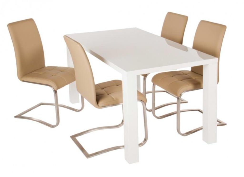DaViDi Design: Eettafel Luana Hoogglans Wit 160 Cm. van Davidi Design ...