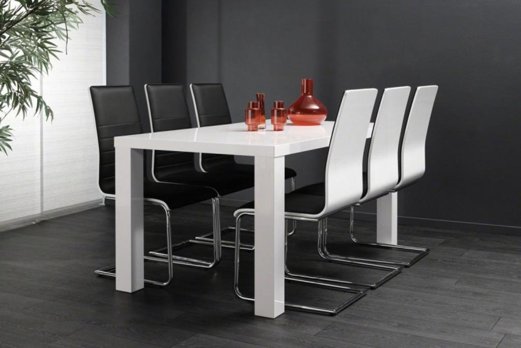 Eettafel Wit Design.Davidi Design Eettafel Rubin 190 Cm Mat Wit Van Davidi Design