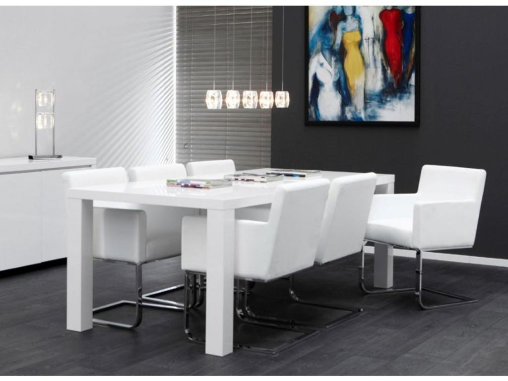 Eetkamer Wit Hoogglans : Ikea witte eettafel good stunning ikea stoelen eetkamer gallery