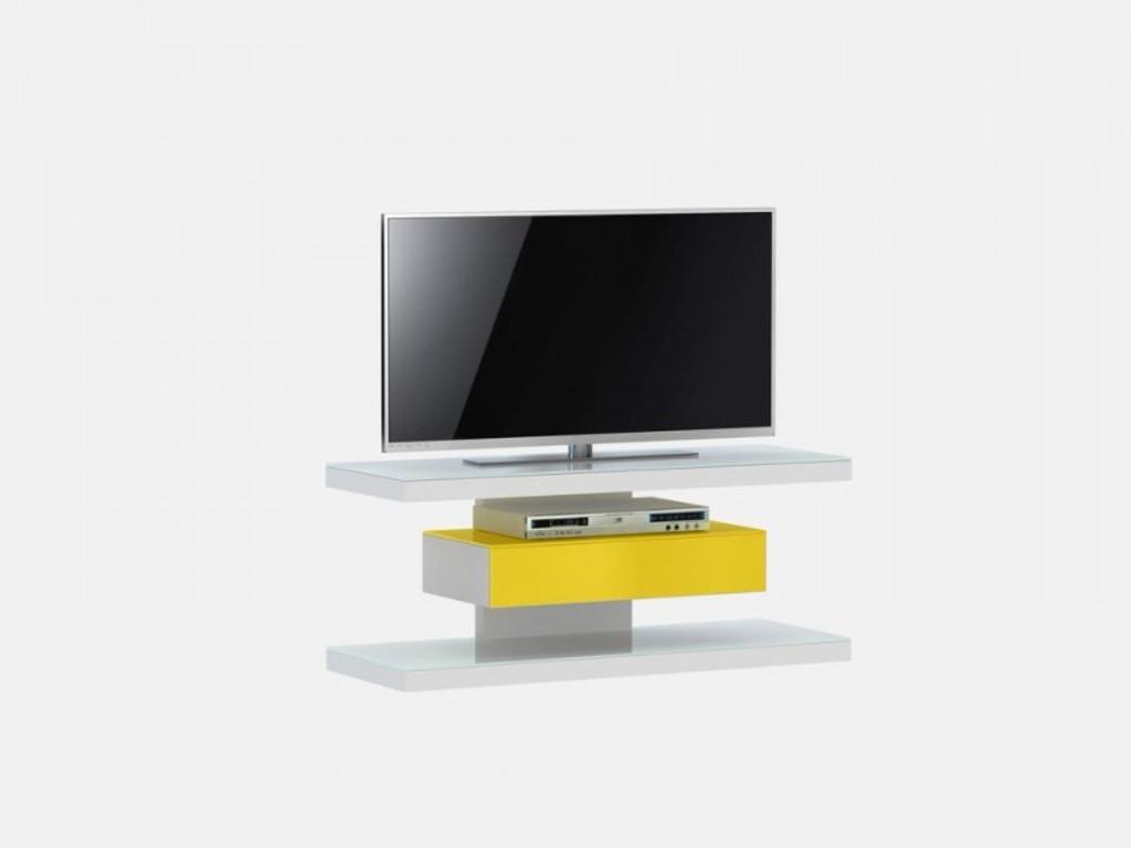davidi design jahnke moebel sl 610 tv meubel wit geel van. Black Bedroom Furniture Sets. Home Design Ideas