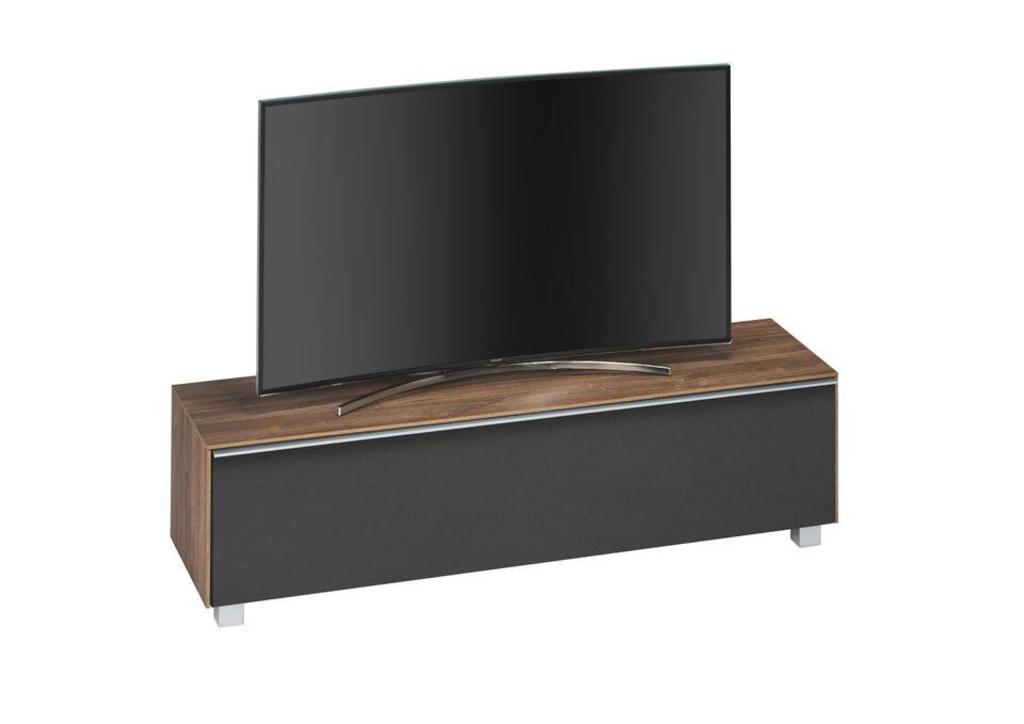 Davidi design maja moebel almond tv meubel walnoot zwart van maja