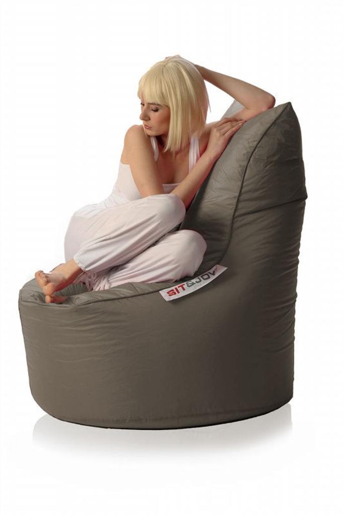Zitzak Van Sit En Joy.Davidi Design Sit En Joy Balina Zitzak Taupe Van Sit Joy