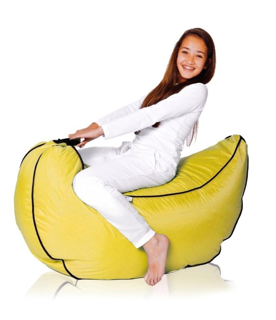 Sit And Joy Zitzak.Davidi Design Sit En Joy Banana Zitzak Geel Van Sit Joy