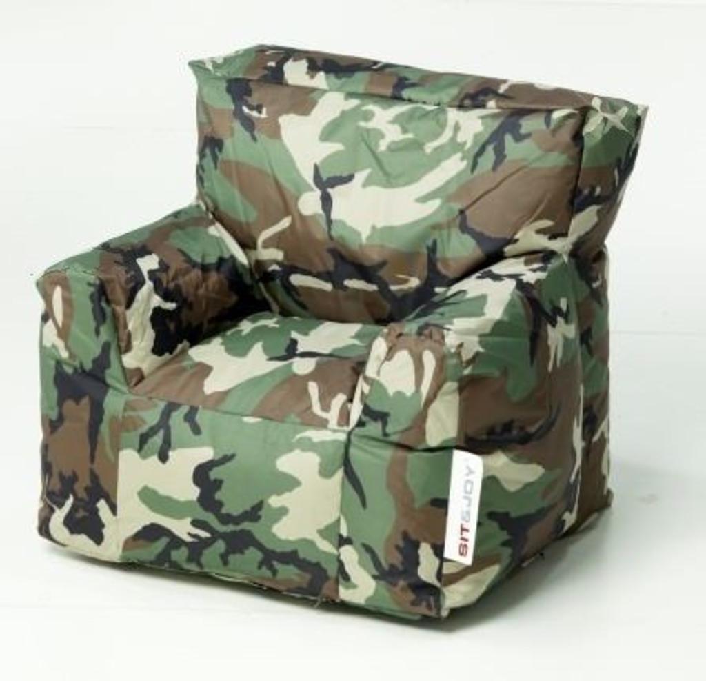 Zitzak Sit Joy.Davidi Design Sit En Joy Junior Chair Zitzak Camouflage Van Sit