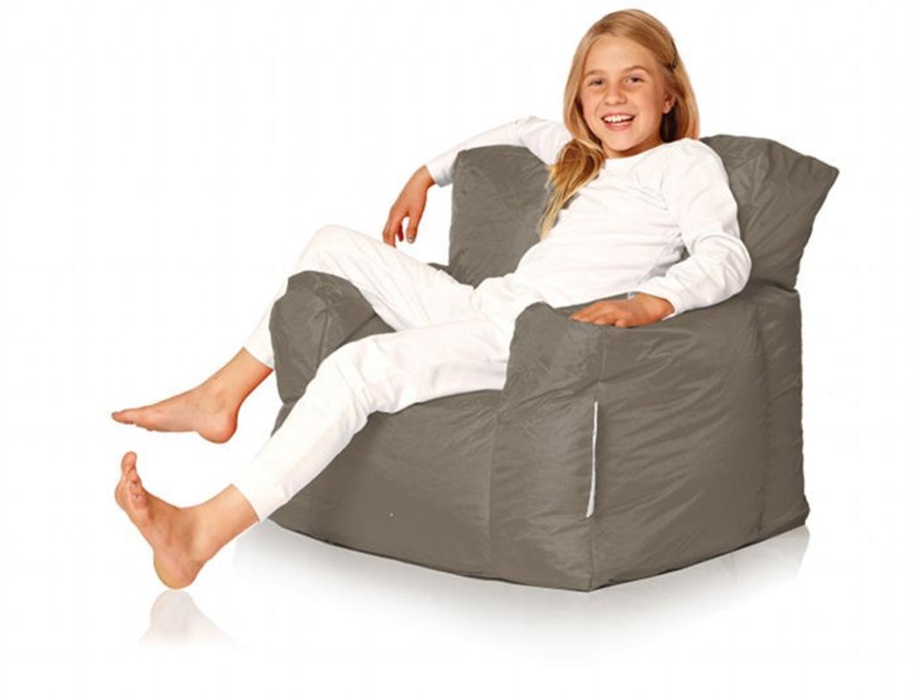 Sit En Joy Lounge Zitzak.Davidi Design Sit En Joy Junior Chair Zitzak Taupe Van Sit Joy