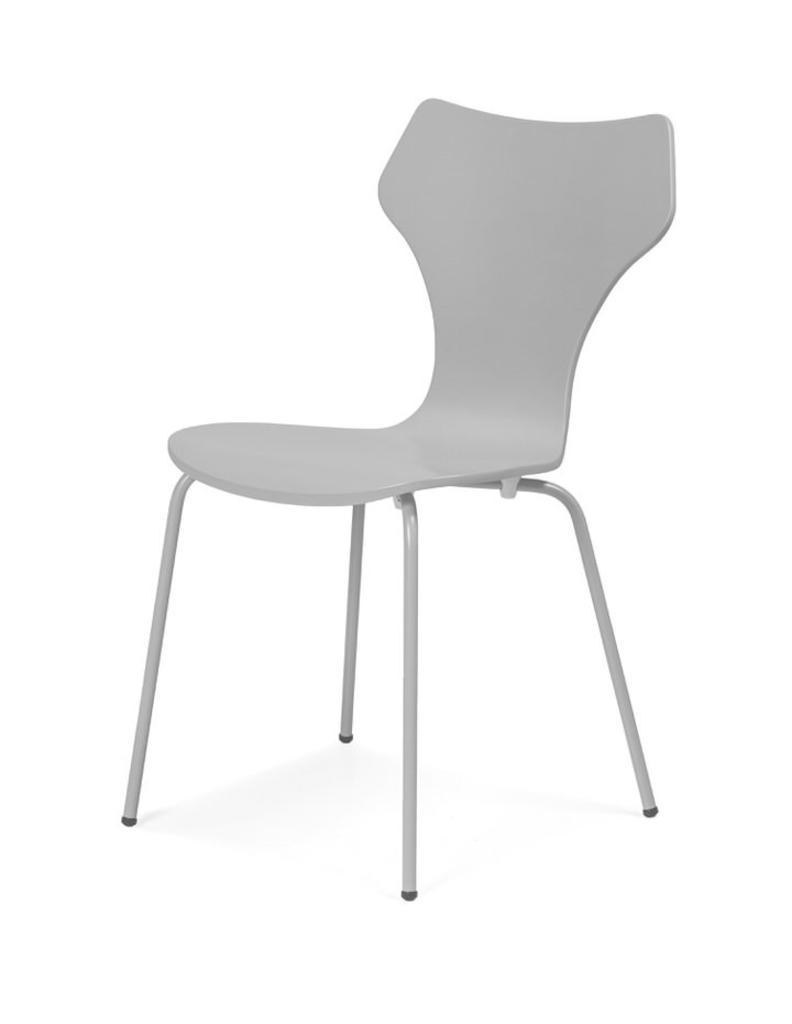 Davidi design sixtens lolly eetkamerstoel ava 4 stuks grijs van sixtens eetkamer meubilair - Meubilair van binnenkomst grijs ...
