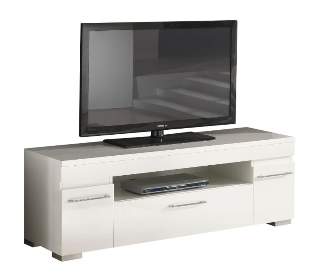 Davidi design reviews en beoordelingen van tv meubel gilda hoogglans wit van davidi design misc - Meubilair tv industrie ...