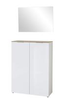 Schoenenkast Voor In De Hal.Davidi Design Germania Cetano Schoenenkast Hoogglans Wit Van