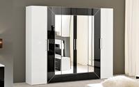 Davidi design davidi design wandkast 4 deuren hoogglans rood van davidi design wandkasten - Designer kledingkast ...